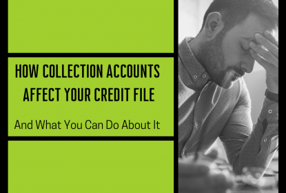 How Collections Affect Your Credit File